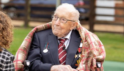 Kumpulkan Donasi Virus Corona, Veteran Perang Asal Inggris Dianugerahi Gelar Bangsawan