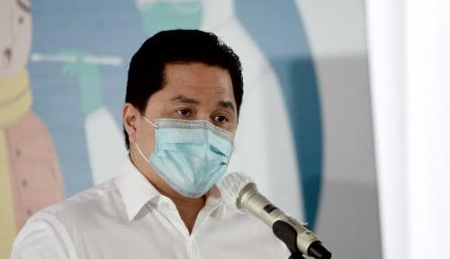 Foto Erick Thohir Jujur Soal Kondisi BUMN di Tengah Pandemi, 90% Sakit! Cuma 10% yang Bertahan