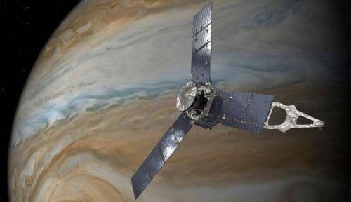 Ilmuwan Jelaskan Terbentuknya Bulan Galilea di Jupiter