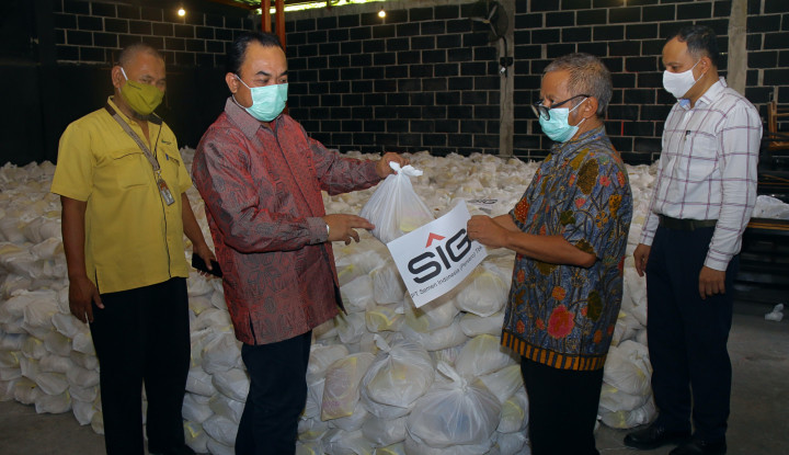 Sambut Idulfitri 1441 H, SIG Salurkan 64.601 Paket Sembako