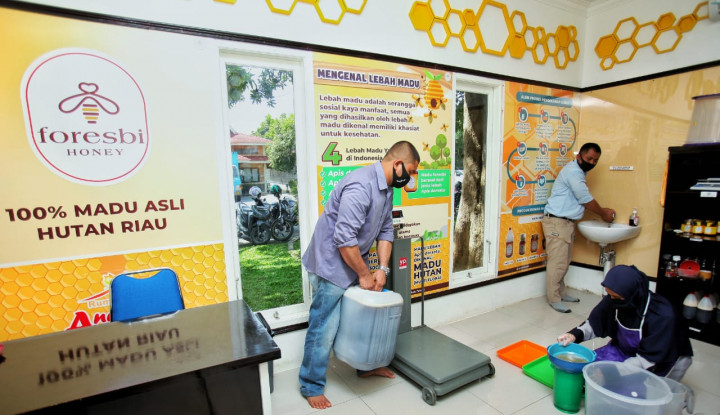 Dampak Program Kemitraan saat Pandemi Covid-19, Omzet Petani Madu Sialang Capai Ratusan Juta Rupiah