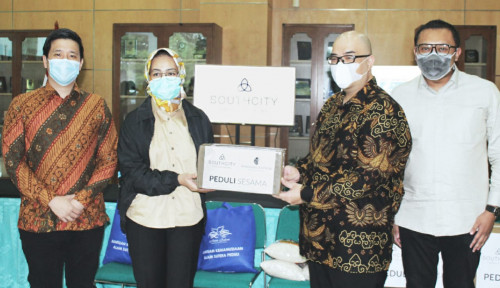SouthCity Serahkan Donasi 2.000 Rapid Test ke Wali Kota Tangerang Selatan