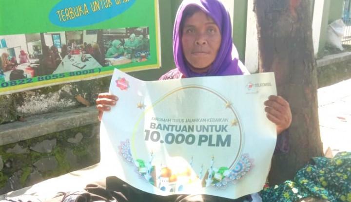 Jelang Lebaran, Telkomsel Gaet Rumah Zakat Salurkan 1.339 Paket Bantuan Bagi Warga Kurang Mampu