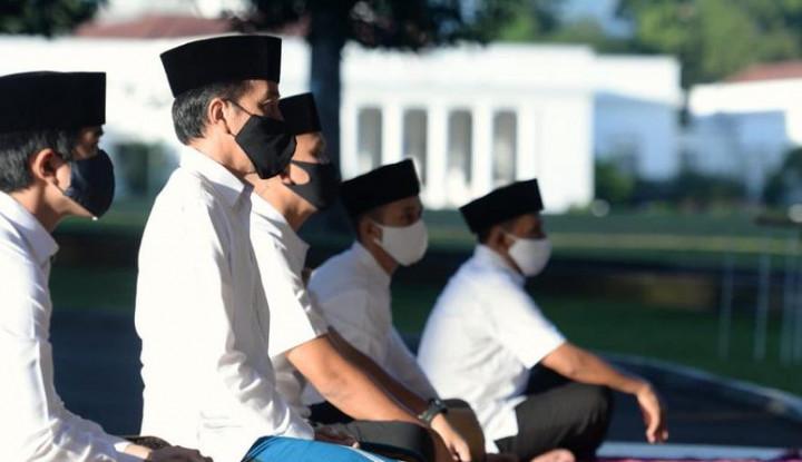 Lebaran di Tengah Pandemi, Jokowi: Memang Berat, Kita Hadapi Bersama-sama