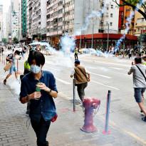 Waswas Demonstrasi Rusuh, Polisi Diterjunkan buat Jaga Gedung Parlemen Hong Kong