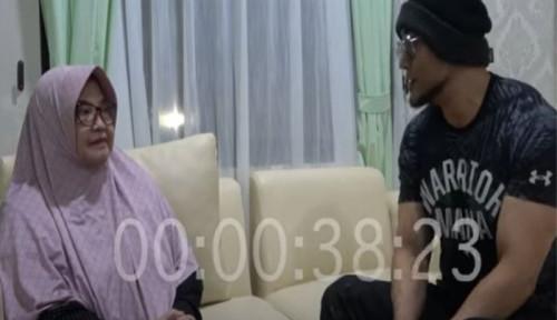 Wawancara Siti Fadilah, Deddy Corbuzier Masuk Ruangan Pakai Masker