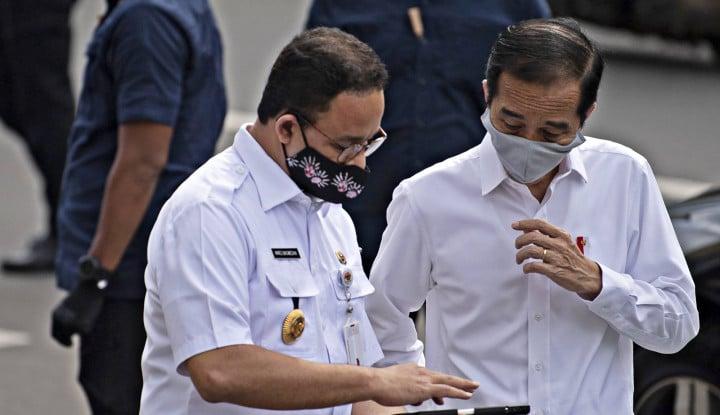 Anies Baswedan: Bapak Jokowi yang Saya Hormati...
