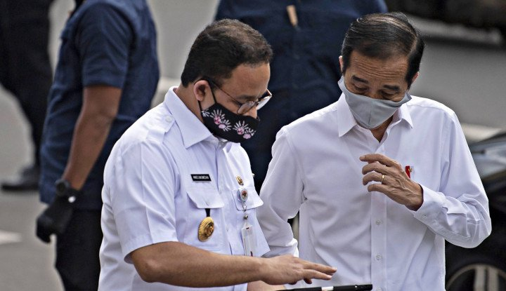 Benarkah Jokowi- Anies Gak Akur? Ini Jawabannya...