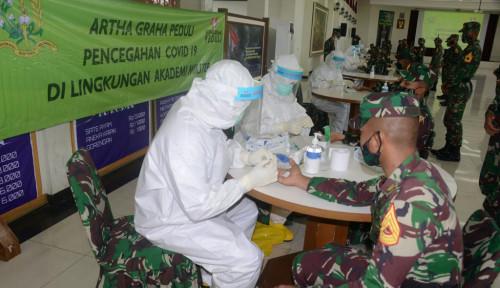 AGP Sumbang Ribuan Rapid Test hingga Obat-obatan ke Akmil