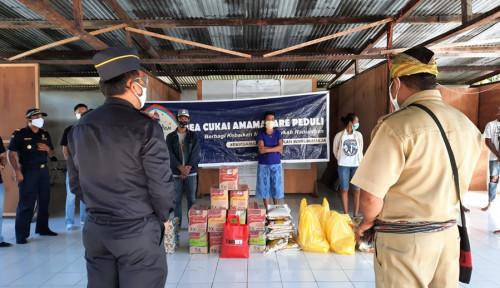 Sembako Hingga Laptop, Bea Cukai Donasikan ke Warga Terdampak Covid-19