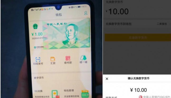 China Bakal Jadi yang Pertama Rilis Cryptocurrency Nasional, Gimana Sistem Aplikasinya?
