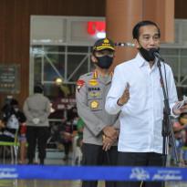 Nah Lho Ketahuan Jokowi, 70% Warganya Khofifah Gak Pakai Masker
