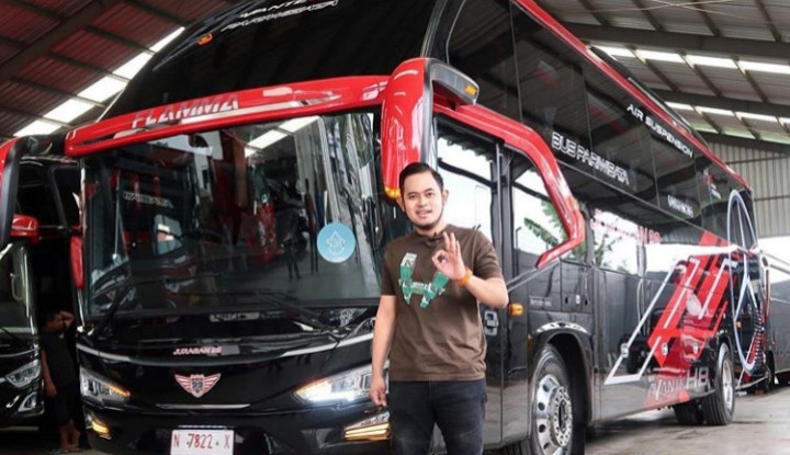 sepi pesanan, juragan bus pariwisata gilang widya cari alternatif