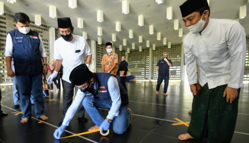 Sah! Jawa Barat Terapkan Pedoman New Normal Tempat Ibadah 1 Juni 2020
