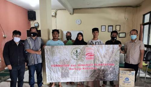 Minamas Plantation Gandeng Forum Wartawan Bagikan Bantuan Sosial