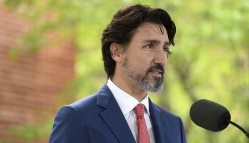 Ketika Justin Trudeau Terdiam Kala Diminta Komentari Kerusuhan di AS