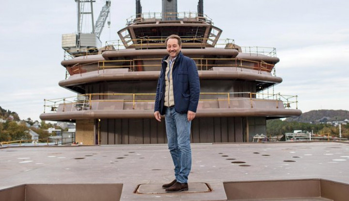 Foto Berita Menengok Kapal Mewah Buatan Miliarder Norwegia: Ada 8 Lab, 3 Kolam Renang hingga Helipad