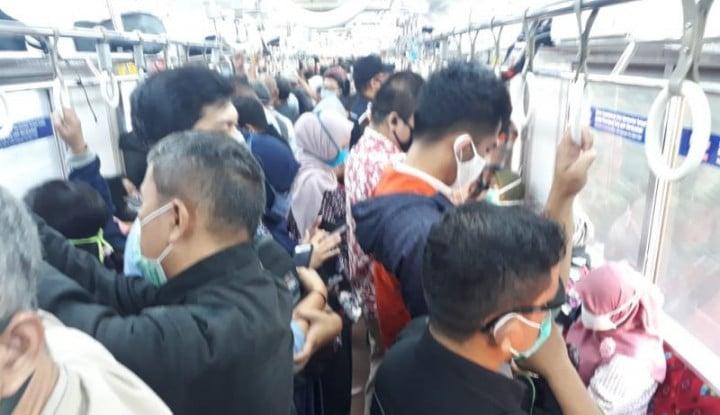Kurangi Kepadatan KRL, Perum PPD Tambah Armada Bus Gratis