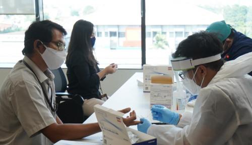 Mau New Normal, RNI Laksanakan Rapid Test Massal ke Seluruh Karyawan