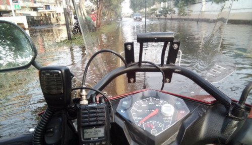 Banjir Rob di Jakut Akibat Tanggul Jebol Tak Ada Korban Jiwa