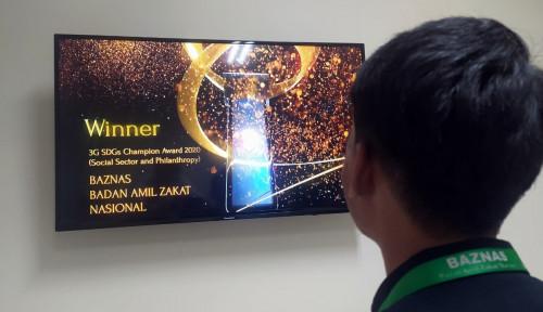 Baznas Sabet Penghargaan 3G SDGs Champion Awards 2020