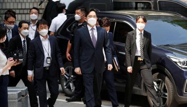 Foto Berita Dites Rapid Antigen Covid-19, Putra Mahkota Samsung Kembali ke Penjaranya yang Dulu