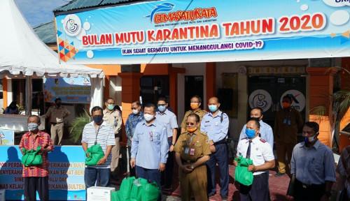 Bea Cukai Kawal Peluncuran Ekspor Perdana Hasil Perikanan Sulteng