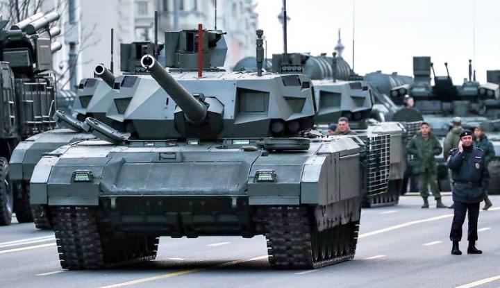 Awas, China Bakal Borong Tank T-14 Armata Berkecepatan 80 Km/Jam dari Rusia