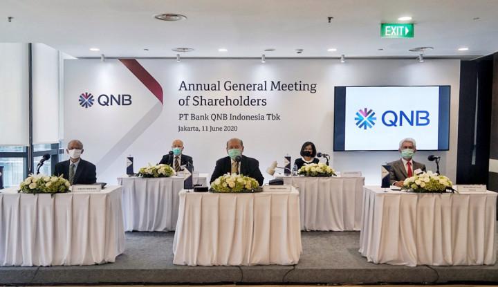 BKSW Walau Laba Kontraksi, Pendapatan Bank QNB Indonesia Naik 39,21% Jadi Rp421,6 Miliar