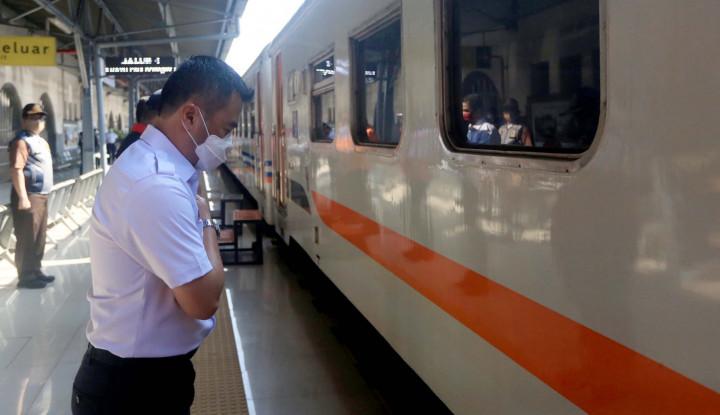 Jelang PSBB Total, KAI Baru Operasikan 50% Kereta Per Hari