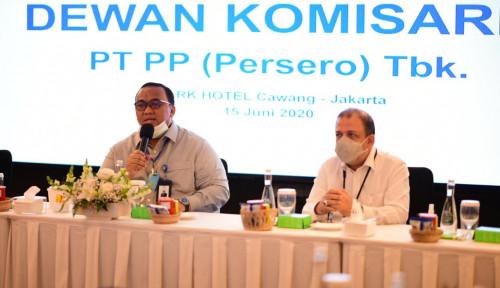 Gara-gara Pandemi PTPP Hanya Mampu Mengantongi  Kontrak Baru Rp12,57 Triliun