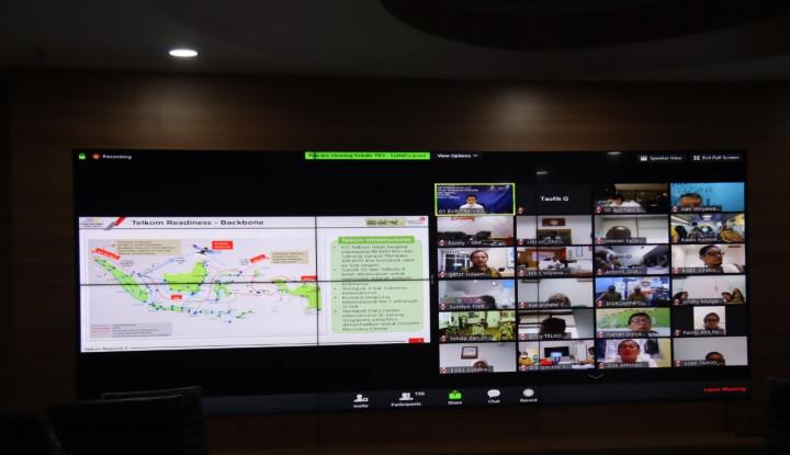 Dukung Smart City, Telkom Jabar Pastikan 100 Persen Jaringan Fiber Optik saat New Normal