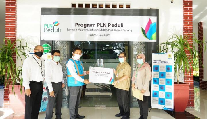 PLN Salurkan Bantuan Rp14 Miliar Tanggap Pandemi Covid-19