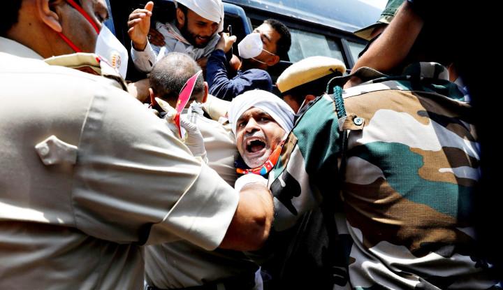 Harimau Nasionalis India Teriak Lantang Tunjukkan Kemarahannya pada China