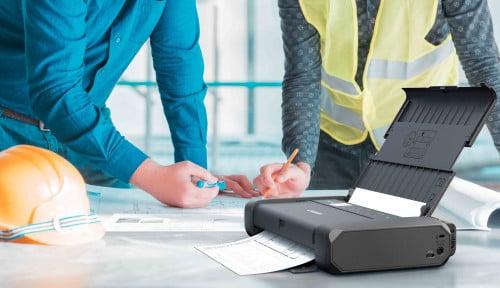 Mencoba Kecanggihan Printer Portabel Canon PIXMA TR150 | Review