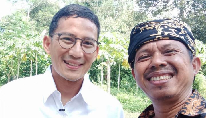 Raup Omzet Rp130 Juta Per Bulan, Sandiaga Uno Puji Kang Asep yang Sukses Berkat Jualan Kopi Kemasan