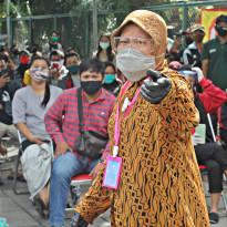 Bu Risma Nangis-Nangis, Pangdem Brawijaya: Jangan Drama!