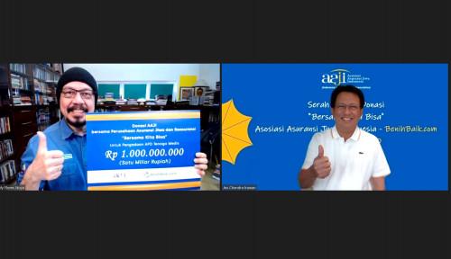 Gotong Royong Lawan Covid-19, AAJI Sumbangkan Rp1 Miliar ke RS Rujukan