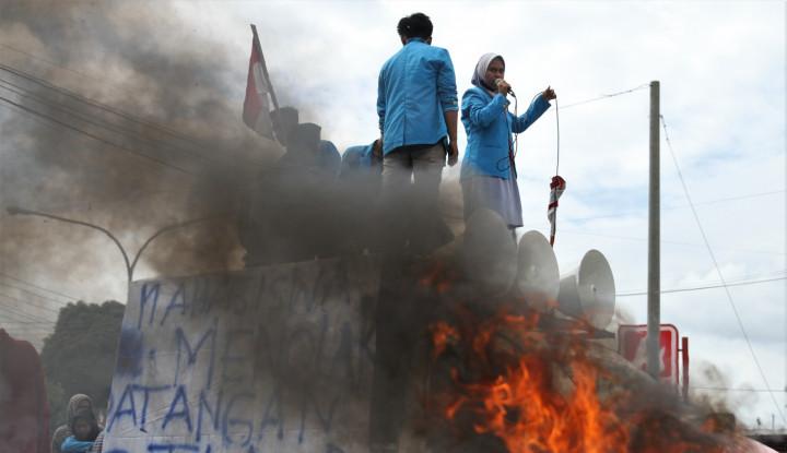 Tolak TKA China, Demonstrasi di Sultra Ricuh