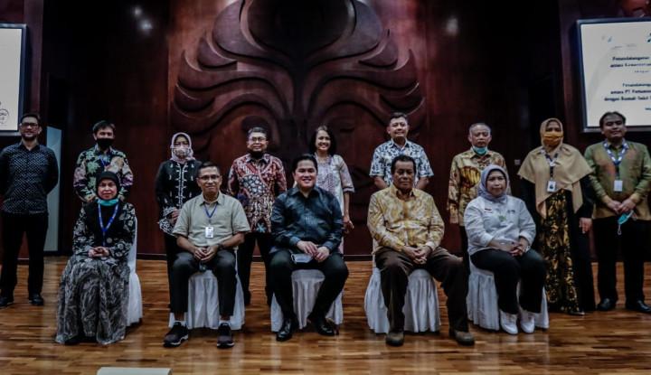 Kementerian BUMN dan Universitas Indonesia Kerja Sama Hasilkan Inovasi di BUMN