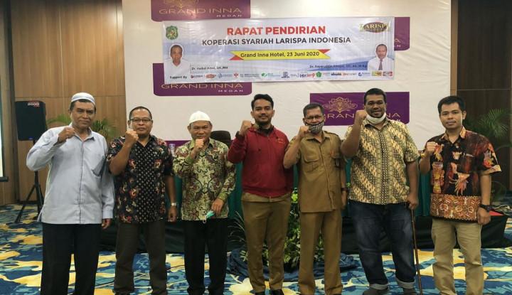 Bantu Masyarakat Terdampak Covid-19, Larispa Indonesia Dirikan Koperasi Syariah