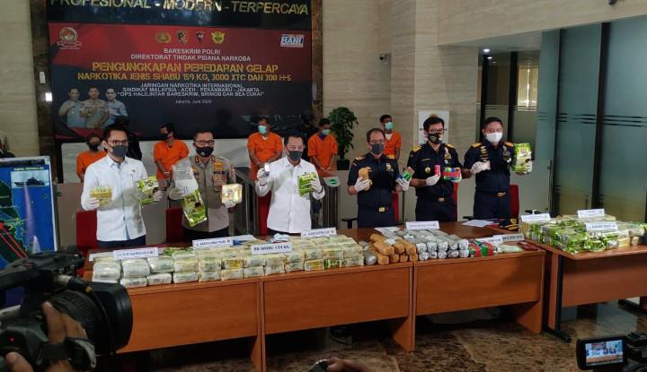 Bea Cukai & Bareskrim Polri Bongkar Penyelundupan 119 Kg Sabu, 3 Pelaku Diringkus