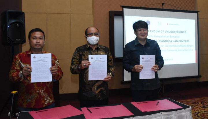 Diinisiasi Hemera Grup dan LG Corp, Bandara APT Pranoto Samarinda Punya Lab Covid-19