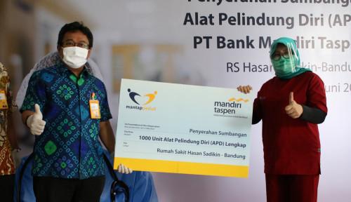Bank Mantap Serahkan Bantuan Alat Pelindung Diri ke 7 RS