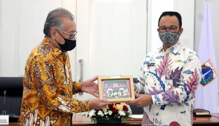 Bantu Penanggulangan Covid-19, LPS Serahkan Bantuan ke Pemprov DKI Jakarta