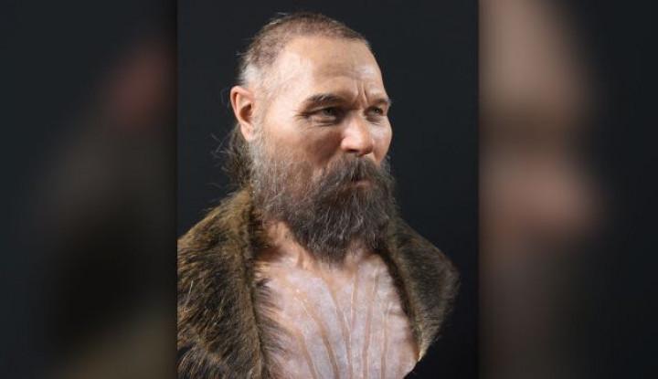 Seniman Forensik Rekonstruksi Wajah Pria Zaman Batu Berusia 8.000 Tahun Lalu