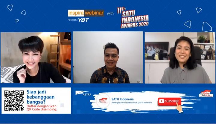 SATU Indonesia Awards 2020 Hadirkan Webinar Hidup Sehat dengan Mudah