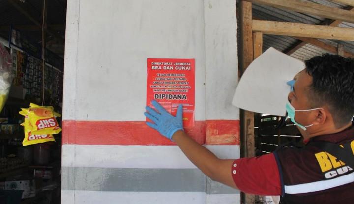 Bea Cukai Gagalkan Peredaran Rokok Ilegal di Bengkalis-Cirebon