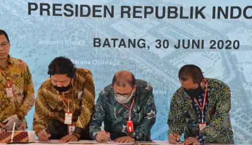 PTPP Kebut Pembangun KIT Batang Klaster I Fase I Seluas 450 Hektare