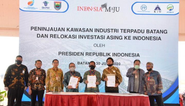 Kembangkan Kawasan Industri Batang, PTPP Gandeng Dua BUMN Lain